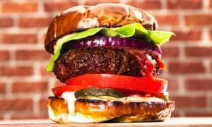 Beyond Burger non-meat burger