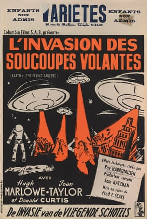 Page 56: Earth vs. The Flying Saucers (1956) Belgian Poster