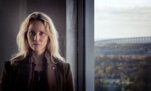 Saga Norén from the TV series, The Bridge