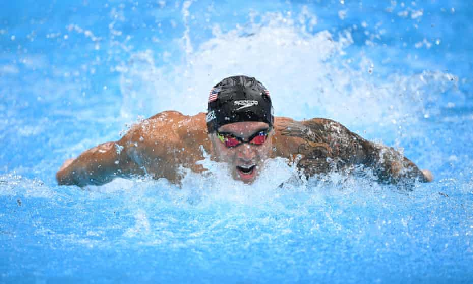 Caeleb Dressel now has seven Olympic gold medals after a stellar Games in the pool.