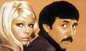 Nancy Sinatra with Lee Hazlewood.