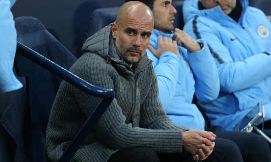 Pep Guardiola's Manchester City face Spurs in the Champions League quarter-final first leg on Tuesday.