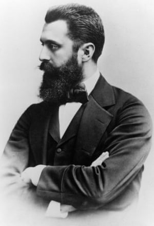 Theodor Herzl, the founder of modern political Zionism.