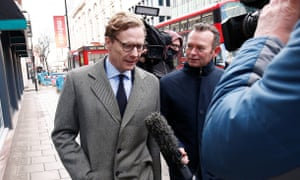 Alexander Nix, the now suspended CEO of Cambridge Analytica.