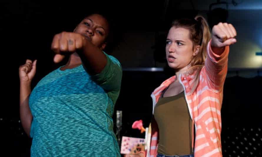 Lara Simpson and Kathleen Fitzpatrick-Milton in Score.