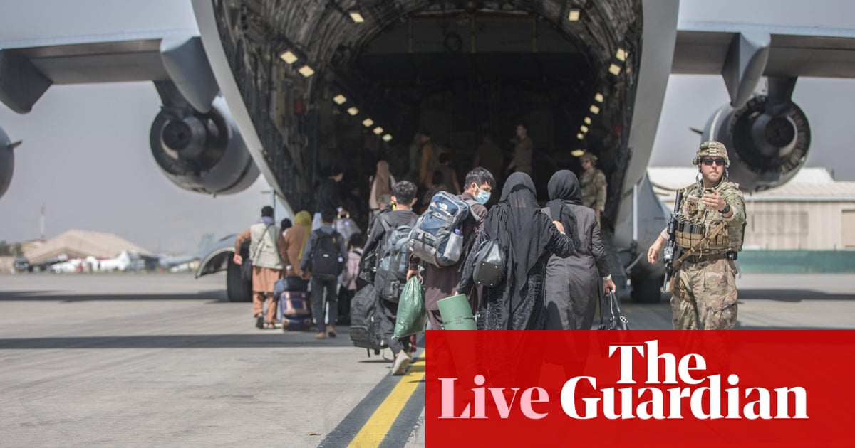 Afghanistan live news: UK defence secretary says it is 'unlikely' evacuation of Kabul will be extended
