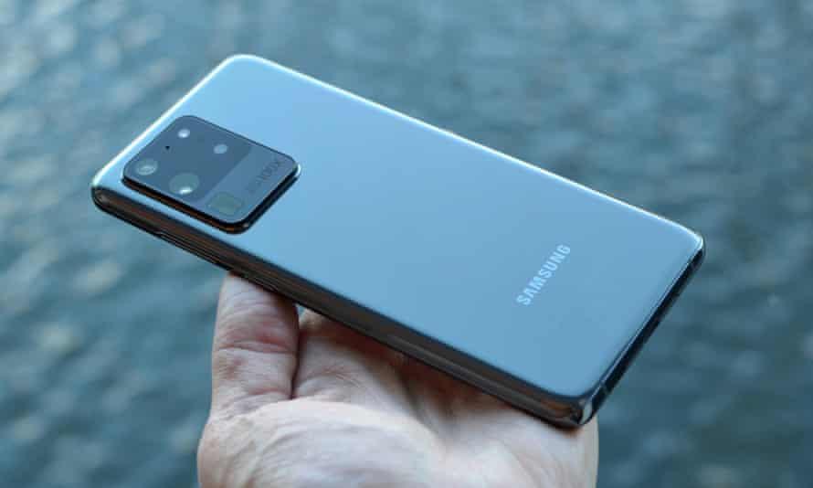Samsung Galaxy S20 Ultra back