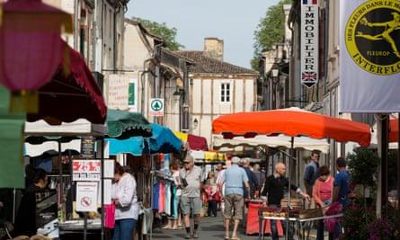 A street in Eymet, France