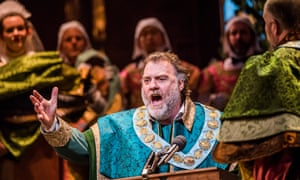 Bryn Terfel as Hans Sachs in Wagner's Die Meistersinger Von Nürnberg at the Royal Opera House.