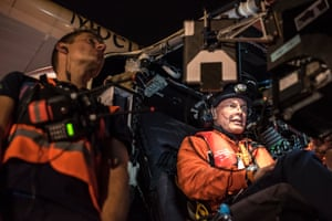 Solar Impulse 2 takes off from Cairo, with Piccard at the wheel