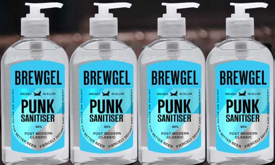 BrewDog hand sanitiser