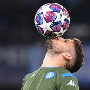 Dries Mertens of Napoli