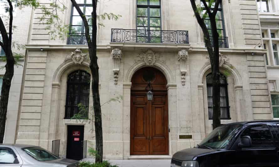 Jeffrey Epstein's Upper East Side home