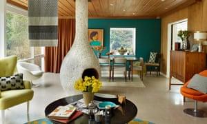 Tibor Reich's super-modern mid-century house.