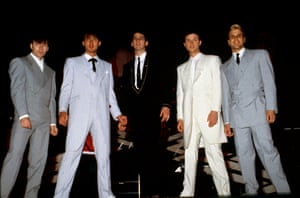 The band's look moved into Zoot suits around the time of True topping the charts.