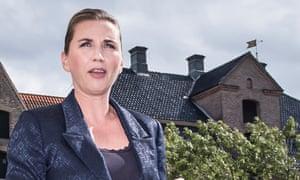 The prime minister of Denmark, Mette Frederiksen.
