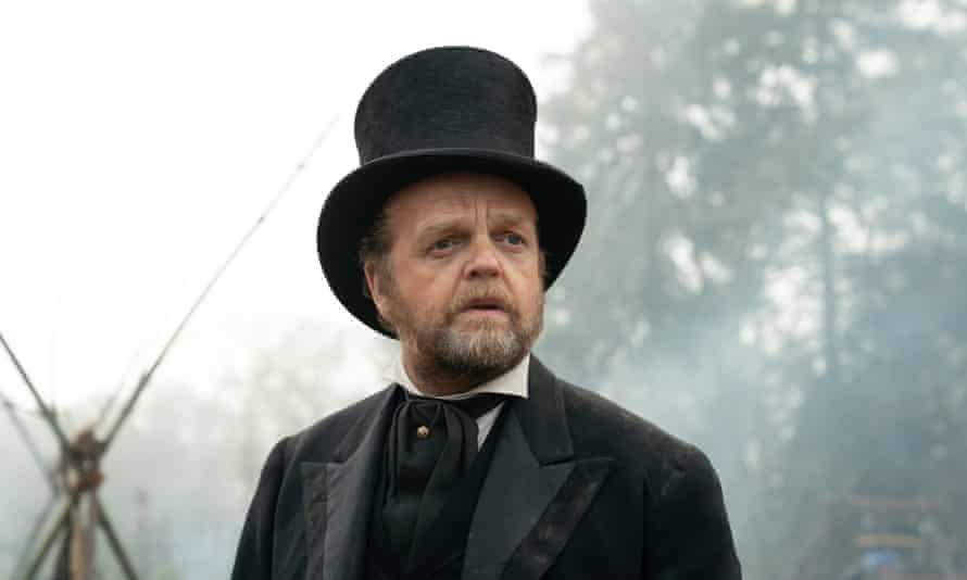 Toby Jones as the Chief Factor.