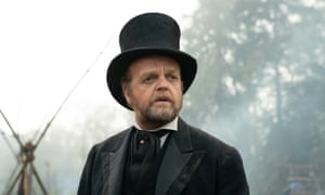 Toby Jones as Chief Factor in director Kelly Reichardt's First Cow.