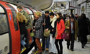 Tube strike causes travel chaos for commuters,