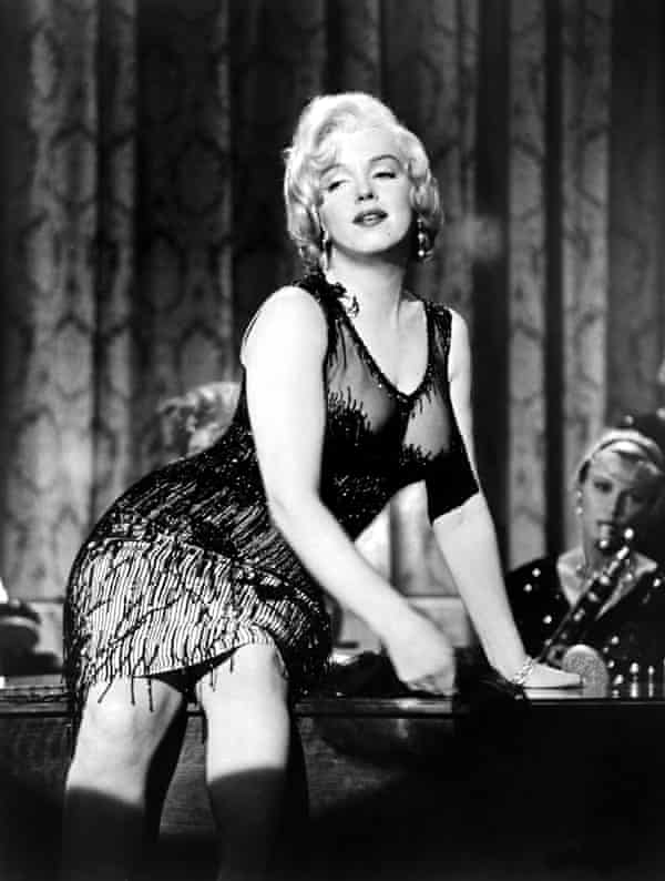 'You can't deny that thing she had when she got in front of a camera' … Marilyn Monroe in Some Like It Hot.