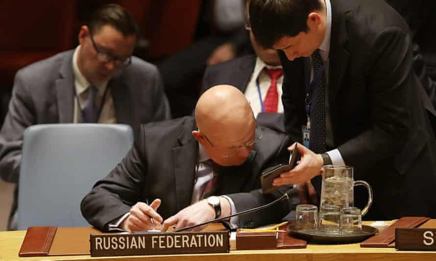 Vassily Nebenzia, Russian ambassador to the UN