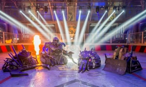 Two million people watched house robots Dead Metal, Sir Killalot, Matilda and Shunt battle it out in BBC2's Robot Wars