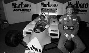 John Watson was Niki Lauda's McLaren team-mate in 1981 when the Austrian returned to Formula One.