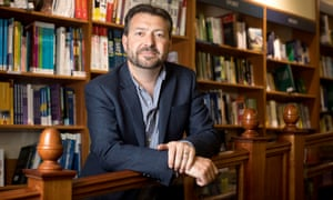 David Prescott, chief executive of Blackwell's book shops