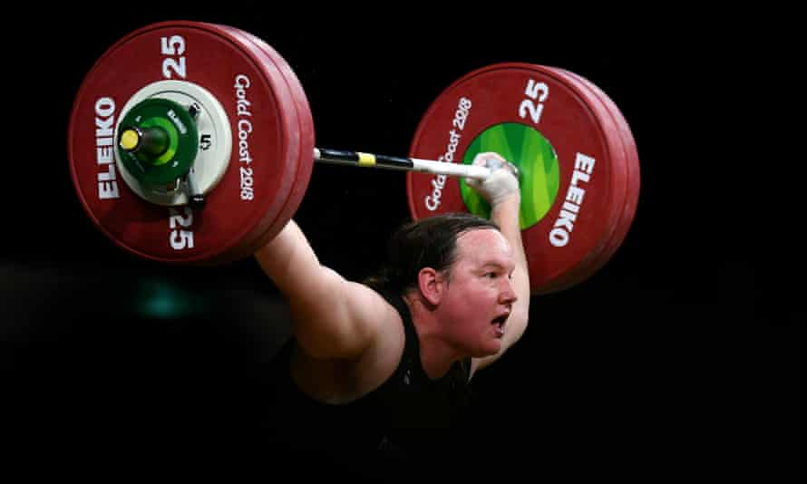 Kiwi weightlifter Laurel Hubbard competes in the women's +90kg final at the Commonwealth Games on Monday.