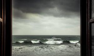 Dramatic sea view
