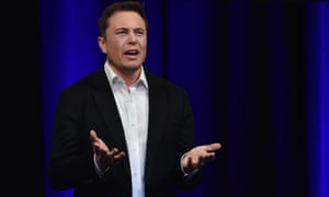 Elon Musk speaks at the International Astronautical Congress in Adelaide on 28 September 2017.