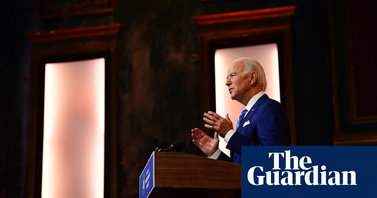 Biden appeals for resilience and unity in Thanksgiving address to America