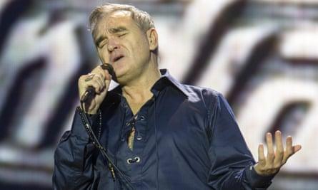 Summer of discontent: Morrissey plays the Way Out West Festival, Slottsskogen, Gothenburg in August.