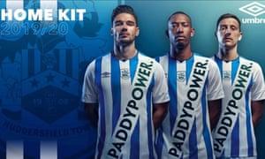Paddy Power的Huddersfield Town衬衫