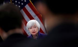 Janet Yellen, the former Fed chair.