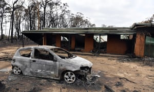 A house and car damaged in Balmoral