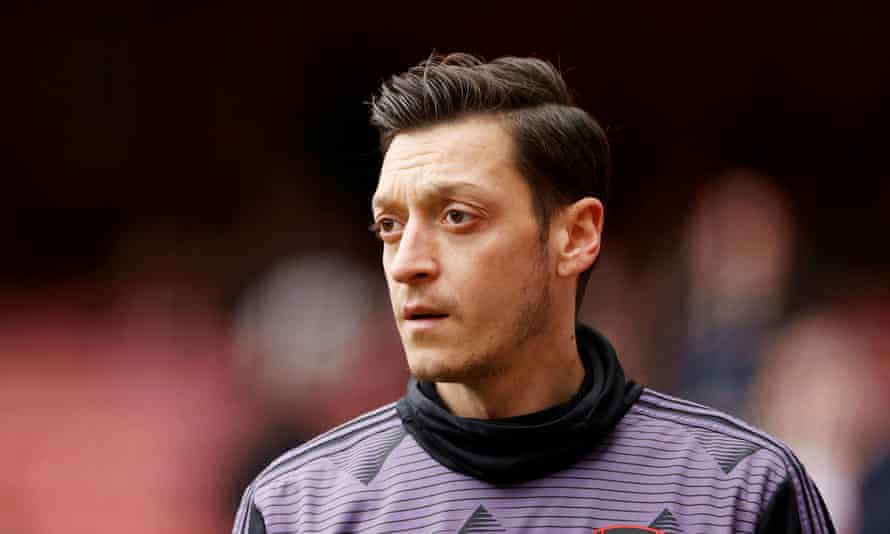 Mesut Özil has not played for Arsenal since March 2020.
