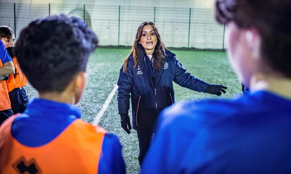 Manisha Tailor, academy coach at QPR, hopes to see 'greater change within the staffing network' of football.
