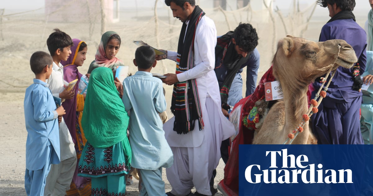 Bearing gifts: the camels bringing books to Pakistan's poorest children