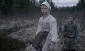 A scene from the 2016 horror film The Witch