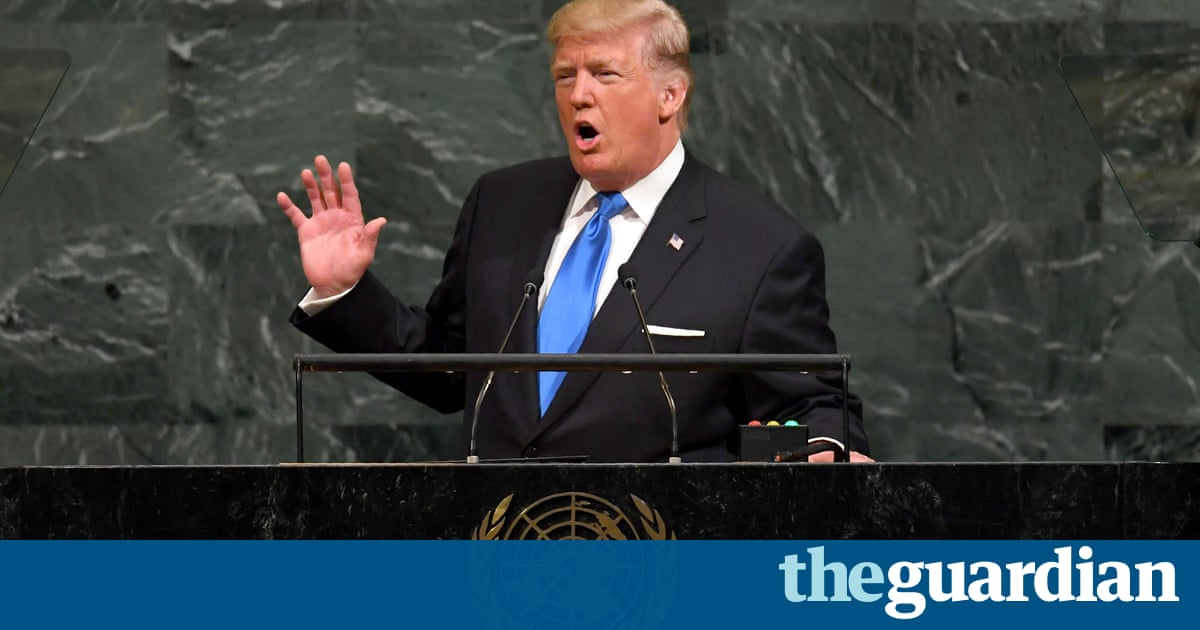 Donald Trump at UN: US may 'have no choice but to totally destroy North Korea' – live