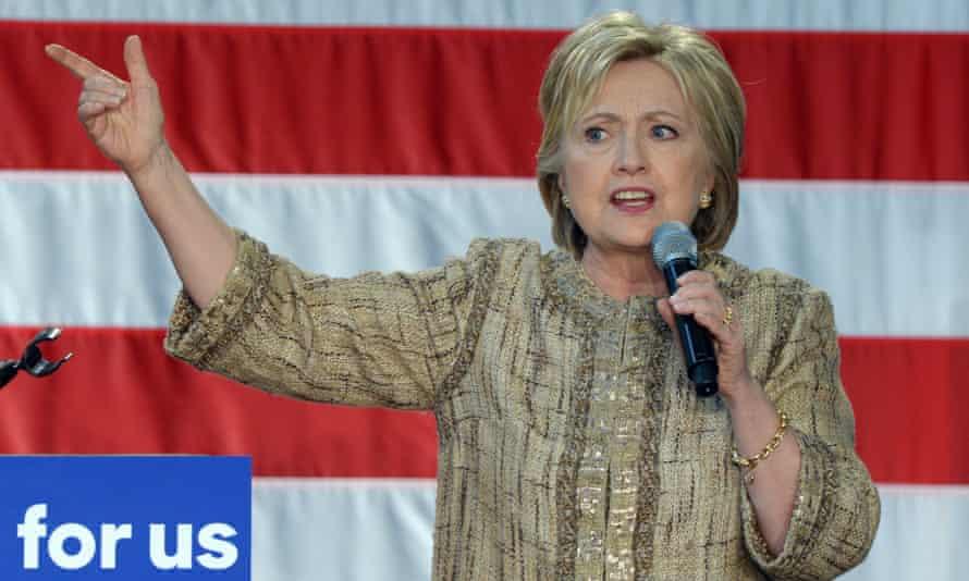 Hillary Clinton speaks in Los Angeles