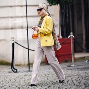 The Le Chiquito bag seen at Paris fashion week.