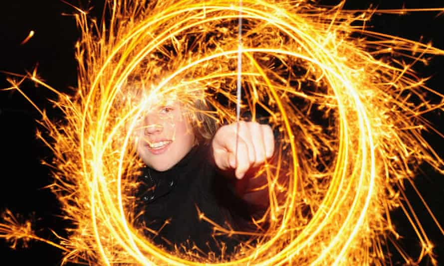 Your chance to sparkle: Bonfire night.