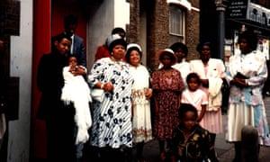 Ms Dynamite family photo