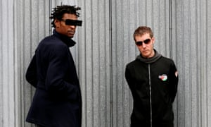 Massive Attack: (L-R) Grant Marshall and Robert Del Naja.