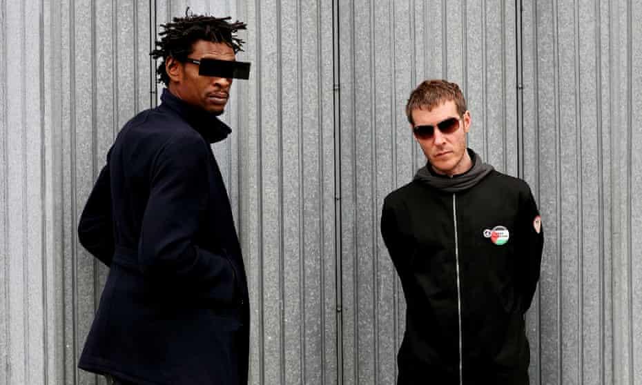 Massive Attack: (L-R) Grant Marshall and Robert Del Naja.
