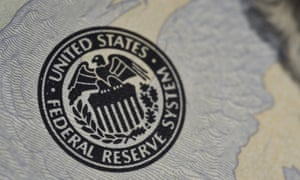 US Federal Reserve seal on banknote