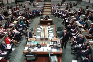 The house during an extended question time