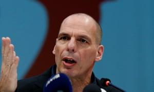 Yanis Varoufakis in March